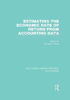 Estimating the Economic Rate of Return from Accounting Data, ed. , v.
