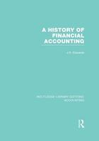 A History of Financial Accounting, ed. , v.
