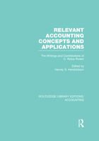 Relevant Accounting Concepts and Applications, ed. , v.