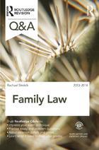 Family Law 2013-2014, ed. 7, v.