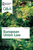 European Union Law 2013–2014, ed. 9, v.