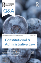 Constitutional & Administrative Law 2013-2014, ed. 8, v.