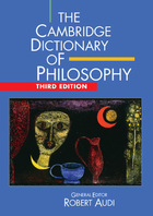 The Cambridge Dictionary of Philosophy, ed. 3, v.