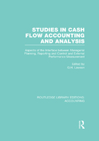 Studies in Cash Flow Accounting Analysis, ed. , v.