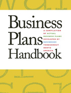 Business Plans Handbook, v. 35 Cover