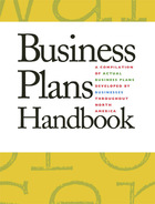 Business Plans Handbook, v. 36 Cover