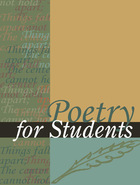 Poetry for Students, ed. , v. 51