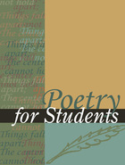Poetry for Students, ed. , v. 52