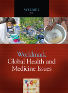 Worldmark Global Health and Medicine Issues, ed. , v.  Icon