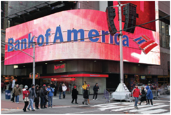 Bank of America admitted in April 2014 that it had made an accounting mistake on its balance sheet resulting in over US$4 billion in nonexistent capital appearing on the multinational bank's 2013 financial