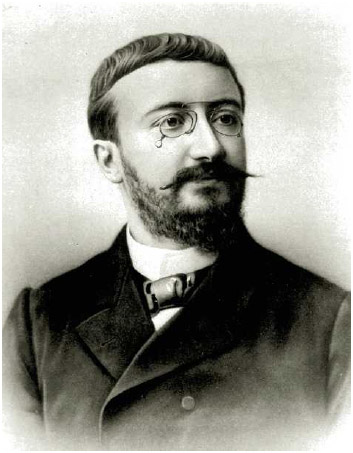 Alfred Binet, a French psychologist who invented the first practical intelligence test, the Binet-Simon scale.