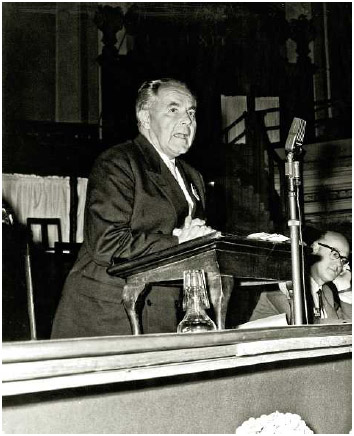 Swiss psychoanalytic psychiatrist Medard Boss.