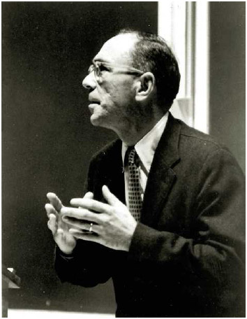 Dr. Jerome S. Bruner in 1965.