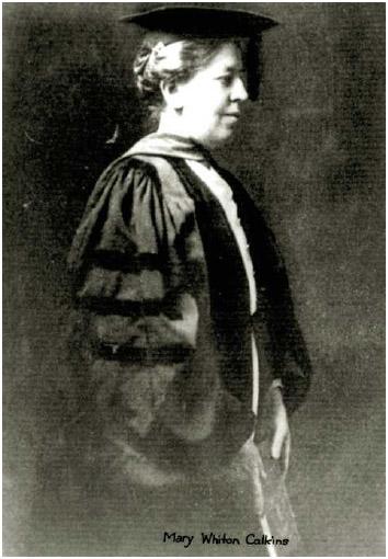 Mary Whiton Calkins.