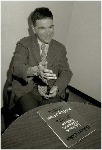 Child psychiatrist Robert Coles.