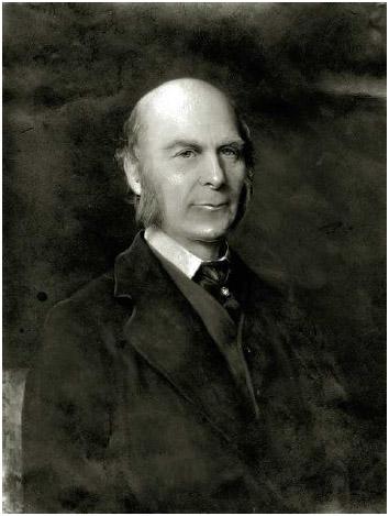 Sir Francis Galton (1822-1911), British scientist.