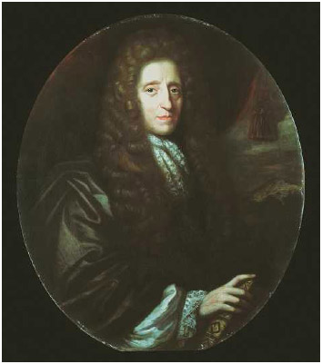 John Locke, English philosopher, 1689. Locke (1632–1704) is regarded as the father of British empiricism.