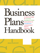 Business Plans Handbook, v. 39 Cover