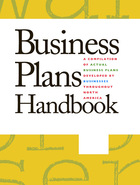 Business Plans Handbook, ed. , v. 41 Cover