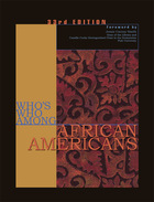 Who's Who Among African Americans, ed. 33, v.