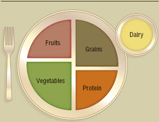 ChooseMyPlate.gov According to the United States Department of Agriculture, avoiding oversized portions isthe bestwayto maintain balanced calorie consumption from a healthy variety of food sources.