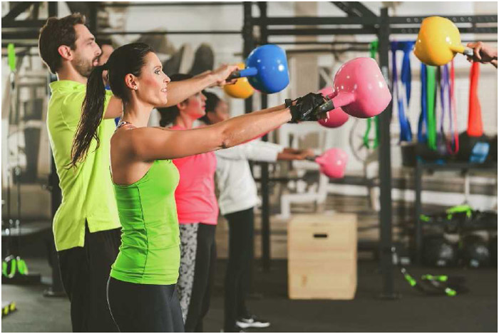 Kettleball lifting combines strength training with cardiovascular exercise for a well-rounded workout.