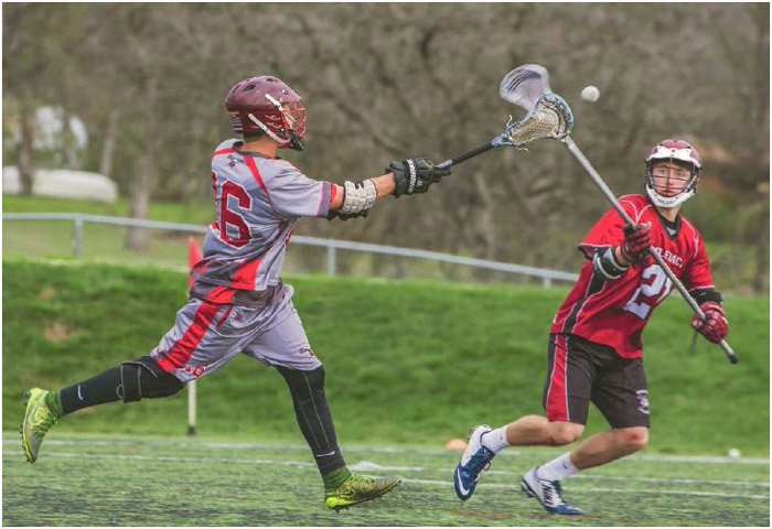 Redding Youth Lacrosse players compete in the 2016 Boys Kickoff Jamboree in Redding, California, February 2016.
