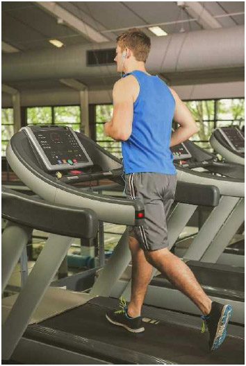 Treadmills are often used as part of aerobic exercise or as a warmup before doing strength training exercises. They also allow runners to continue training indoors during inclement weather.