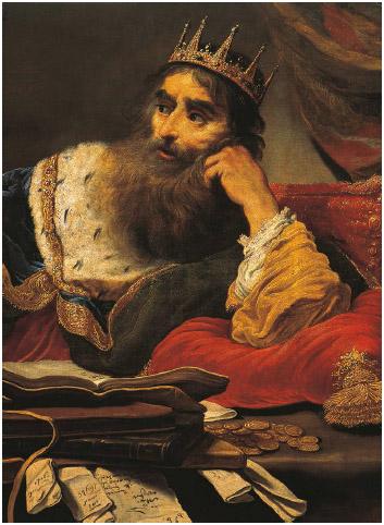 Croesus, King of Lydia