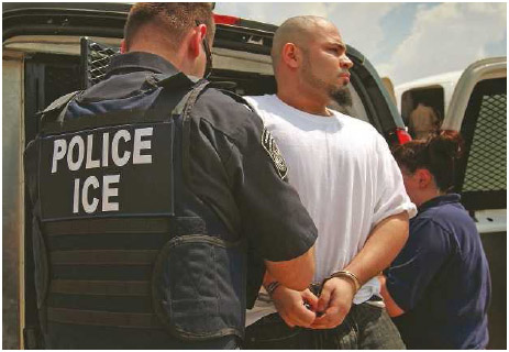Undocumented immigrants in the United States risk being deported, or sent back, to their home countries.