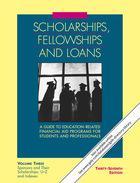 Scholarships, Fellowships and Loans, ed. 37, v.