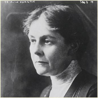 Alice Hamilton.