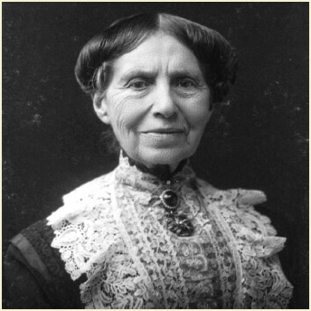 Clara Barton circa 1904.