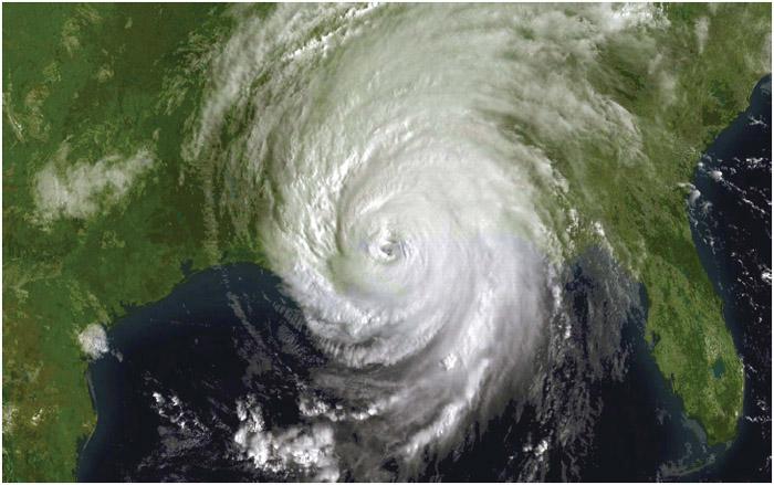Hurricane Katrina, August 29th, 2005.