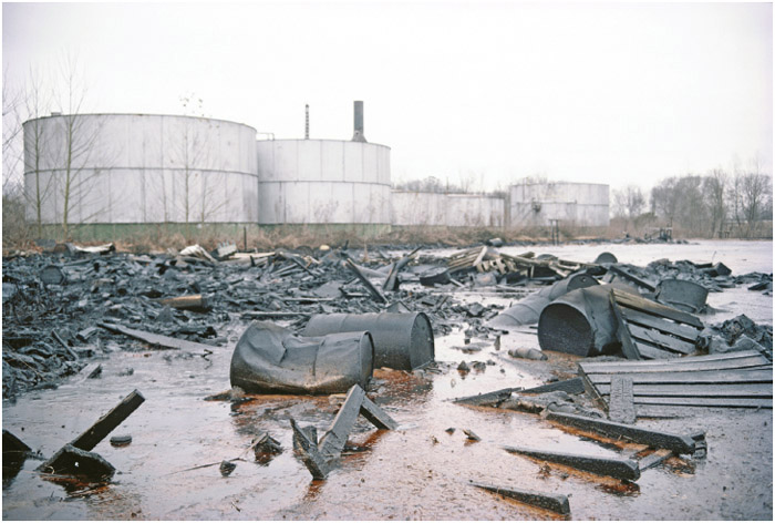 Old Inger Oil Refinery, Darrow, Ascension Parish, Louisiana. This site was placed on the EPA's Superfund list (meaning that it is slated for extensive, long-term cleanup) in 1983.