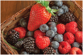 Berries are featured on the American Institute for Caner Research's list of cancer-fighting foods.