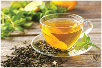 Gree tea is thought to have many health benefits.