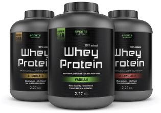 Protein powder supplements.