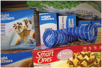 Weight Watchers products.