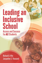 Leading an Inclusive School, ed. , v.