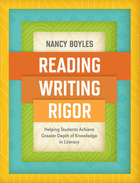 Reading, Writing, and Rigor, ed. , v.