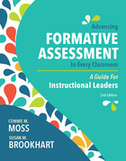 Advancing Formative Assessment in Every Classroom: A Guide for Instructional Leaders