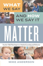 What We Say and How We Say It Matter, ed. , v.