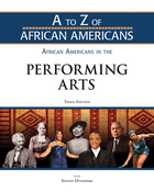 African Americans in the Performing Arts, ed. 3, v.