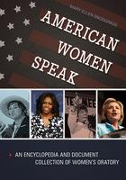 American Women Speak, ed. , v.