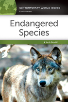 Endangered Species, ed. , v.