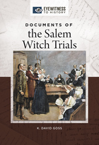 Documents of the Salem Witch Trials, ed. , v.