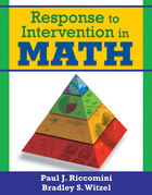Response to Intervention in Math, ed. , v.