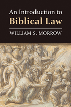 An Introduction to Biblical Law, ed. , v.