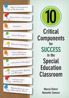 10 Critical Components for Success in the Special Education Classroom